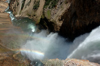 Grand Canyon of the Yellowstone - Lower Falls Brink