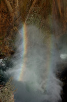 Scenery - Double Rainbow @ Grand Canyon of the Yellowstone-Lower Falls