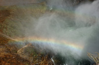 Scenery - Double Rainbow @ Grand Canyon of the Yellowstone - Lower Falls