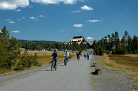 Others - Cyclists @ Old Faithful Inn Area