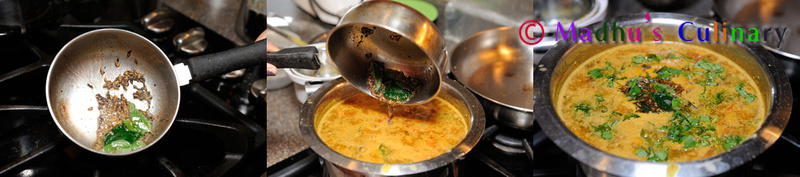 Making of Mysore Rasam