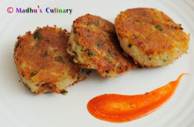 Aloo Tikki / Potato Pattie
