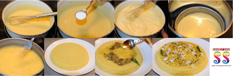 Making of Khaman Dhokla