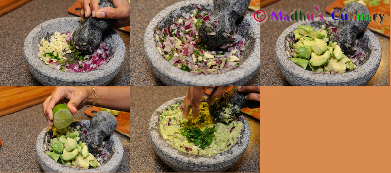 Making of Guacamole