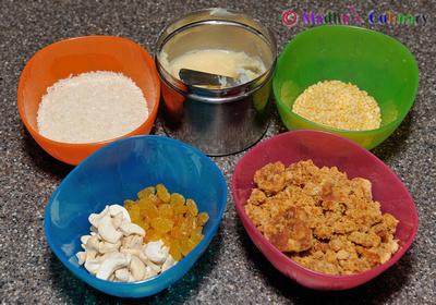 Sakkarai Pongal Ingredients