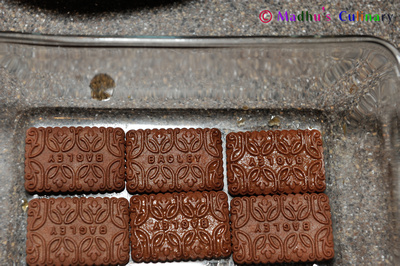 Making of Chocotorta