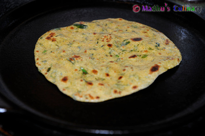 Making of Methi Thepla