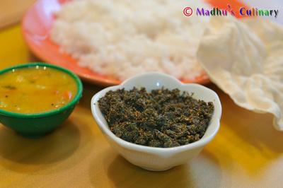 Kothamalli (Coriander Leaves) Thokku