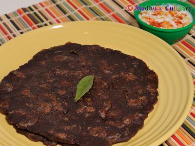 Spicy Ragi Adai