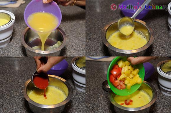Making of Pineapple Rasam