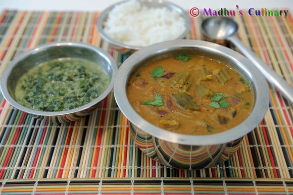 Okra Sambar / வெண்டைக்காய் சாம்பார்