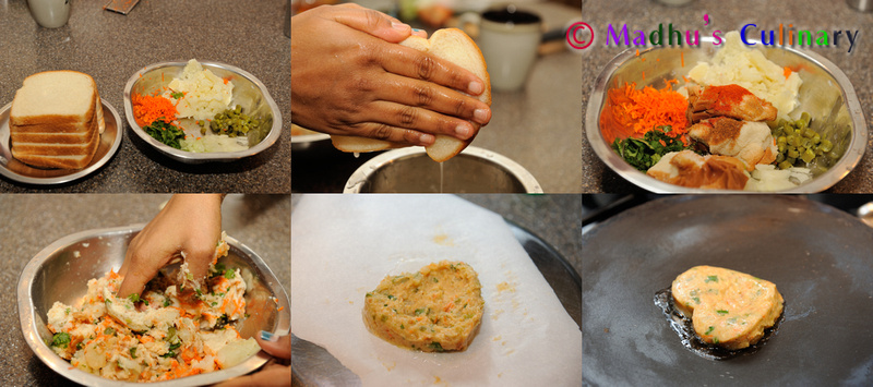 Making of Bread Adai