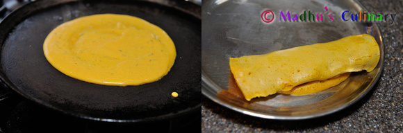 Making of Dosai Kuzhambu