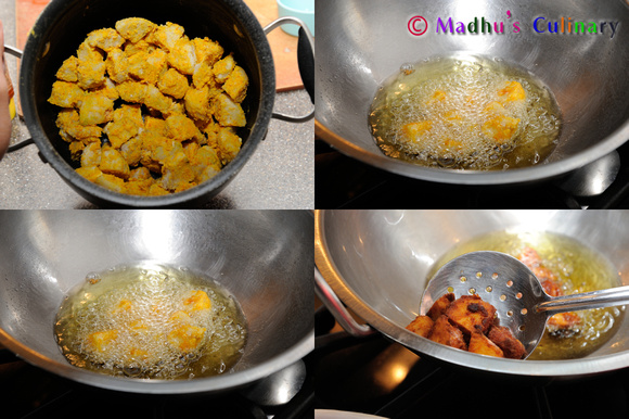 Making of Seppankizhangu Fry