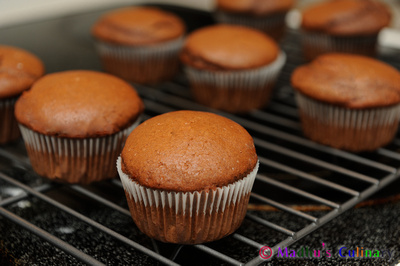 Making of Chocolate Cupcake