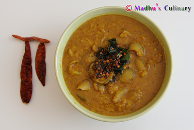 Arachu-vitta Sambar (அரைத்துவிட்ட சாம்பார்)