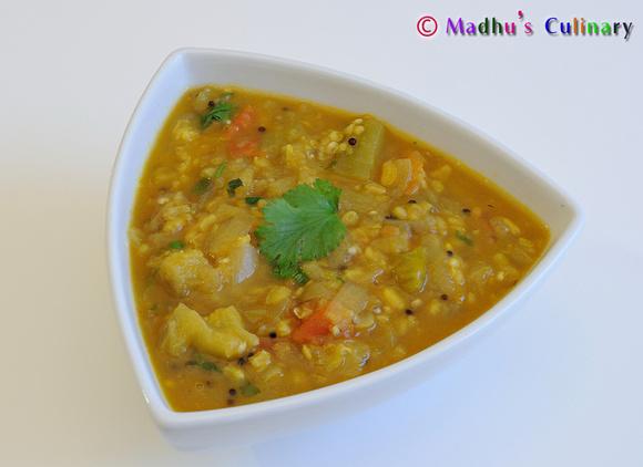 Kathirikai/ Brinjal Gosthu (Eggplant Gravy)