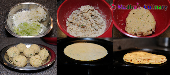 Making of Lauki Ka Paratha