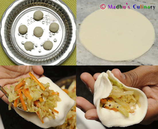 Making of Momos