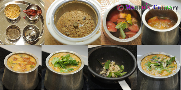 Making of Melagu Jeeraga Rasam / Pepper Cumin Seed Rasam