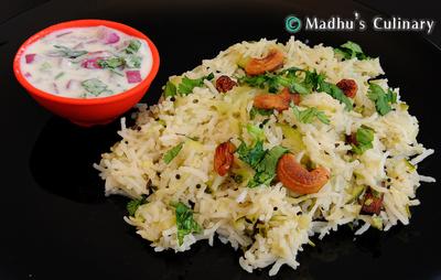 Zucchini Rice (Torai Rice)
