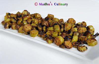 Kovakkai Poriyal / Ivy Gourd Curry