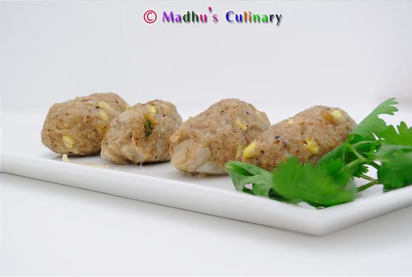 Oats Pidi Kozhukattai / Steamed Oats Dumpling