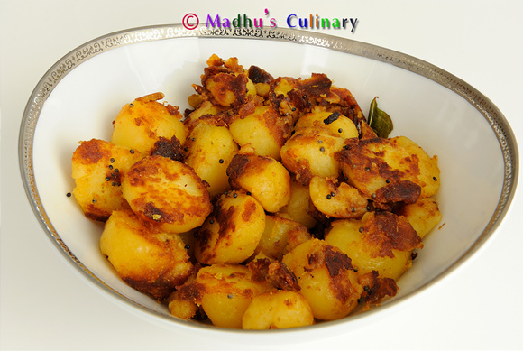 Potato Semi-fry Curry